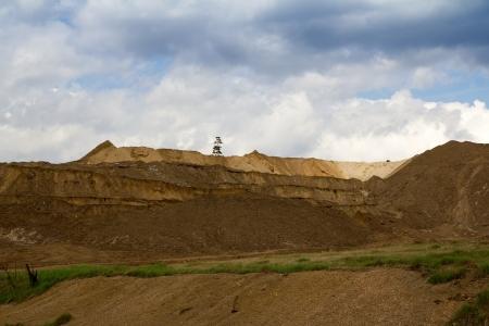 open pit: Open pit quarry