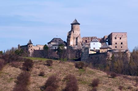Old castle in Stara Lubovna, Slovakia Stock Photo