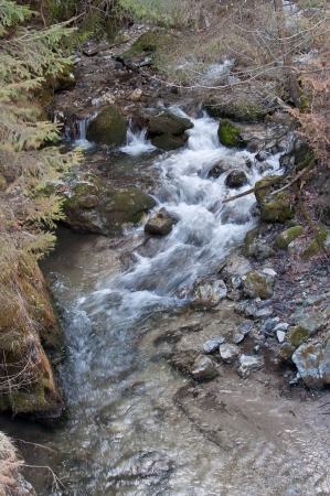 Mountain stream Stockfoto