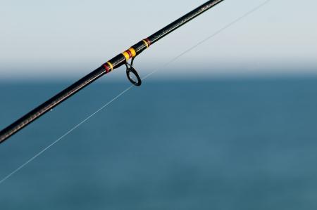 釣り竿 写真素材