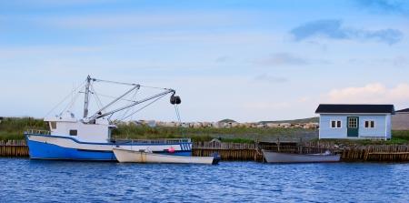 Boats in Ferryland, Newfoundland