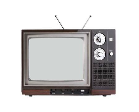 telly: Vintage TV set