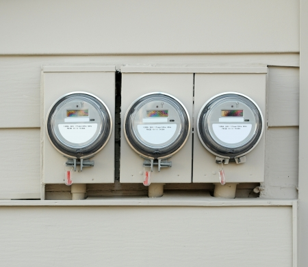 Electric Meters Stock fotó