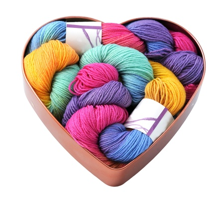 Heart of wool photo