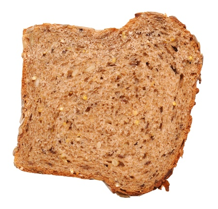multi grain sandwich: Slice of bread