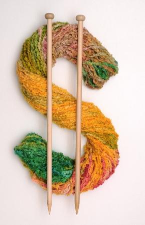 Knitting Money Stock Photo - 16465762