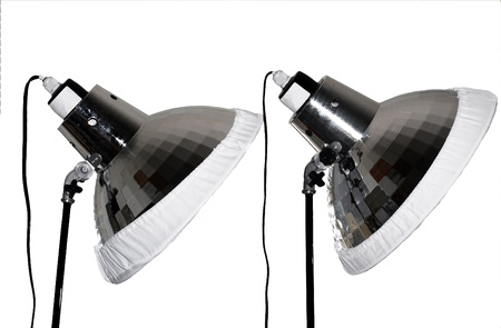 lamp shade: Two Photo Lamps