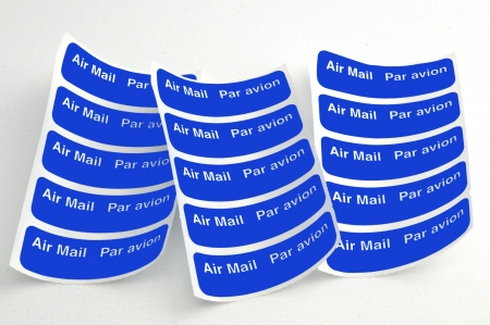 Luchtpost labels