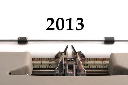 New Sheet - 2013  Year Stock Photo - 16489165