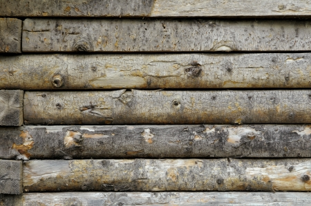 Log Cabin Wall - Pattern   Background Stock Photo