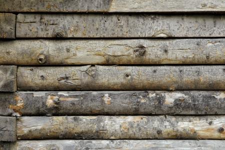 Log Cabin Wall - Pattern   Background Stock Photo