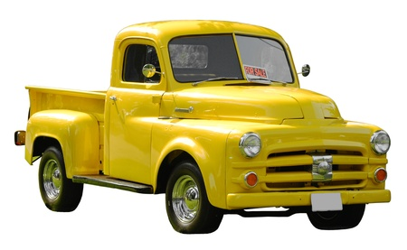 Yellow Truck for sale