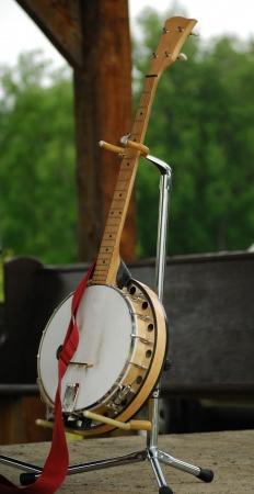 Banjo Banque d'images