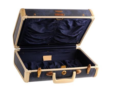 Bleu valise vintage