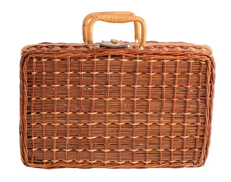Wicker Picnic Case