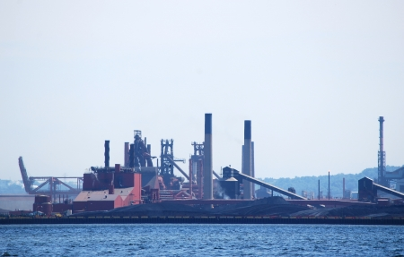 steel manufacturing plant