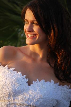 Happy bride Stock Photo - 16642816