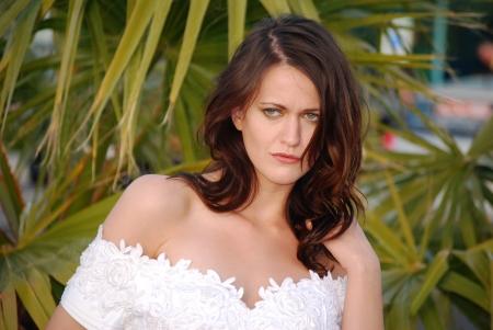 Portrait of a beautiful bride Stock Photo - 16642817