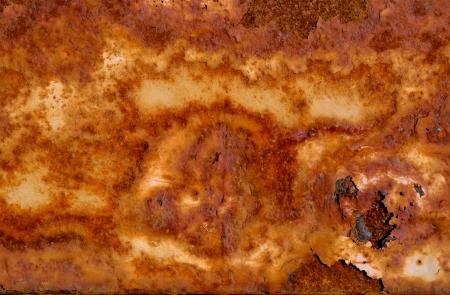 oxidado: Sucio Patr�n Rusty Foto de archivo