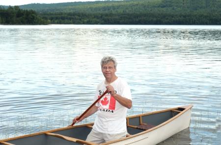 paddler: Senior canoe paddler