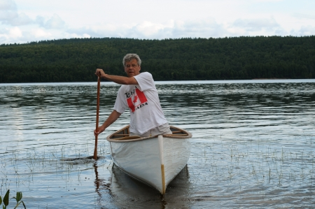 paddler: Active senior paddler