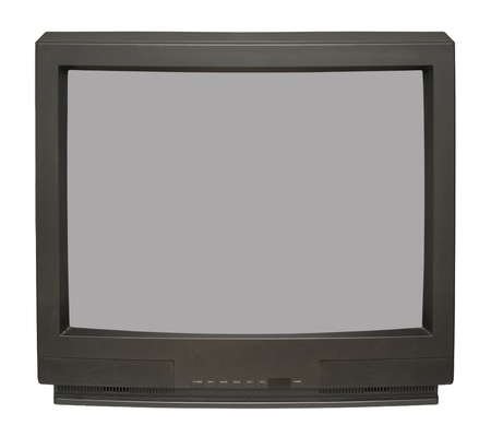 retro tv: Old TV set