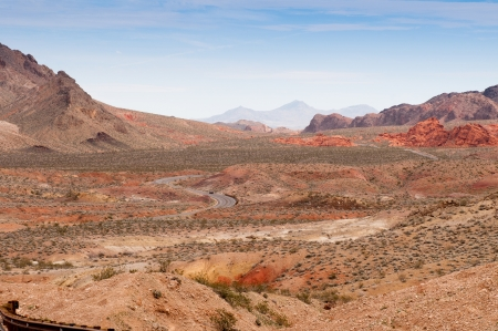 Road through Valley of Fire, Nevada  photo