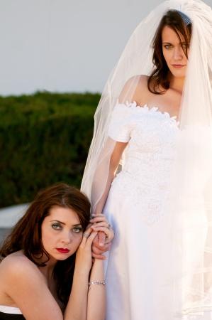 matron: Bride and her best friend