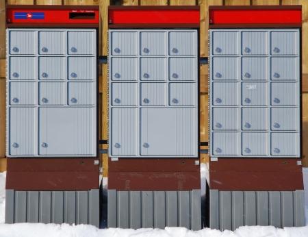 우편 상자 에디토리얼