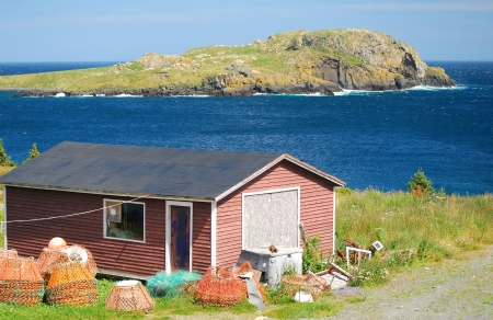 Old shed in Newfoundland