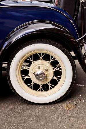 Garde-boue avant et la roue