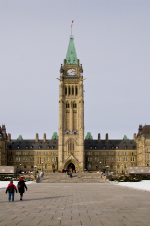 Parliamanent Building in Ottawa
