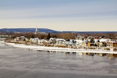 Hull, Quebec with Ottawa River