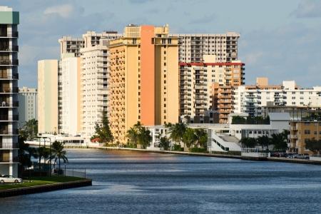 Highrise building in Hallandale, Florida