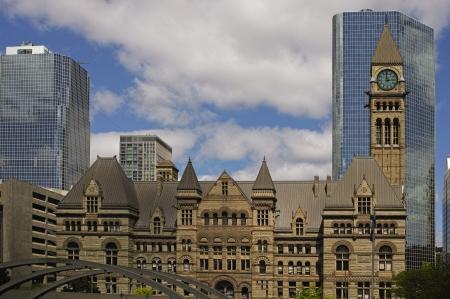 Old Toronto City Hall Stock Photo