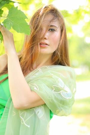 elfin: Portrait of the beautiful elfin woman