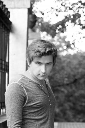 Portrait of the young handsome man Zdjęcie Seryjne