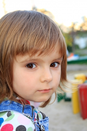 Portrait of the little pretty seus girl Stock Photo - 15422947