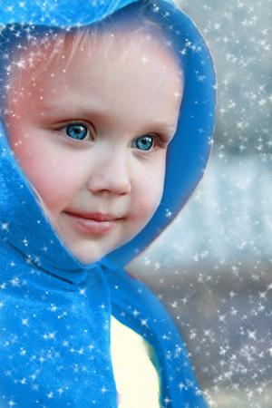 Little lovely girl Stock Photo
