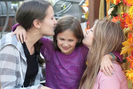 three sisters: Three sisters