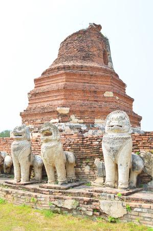 Phra Nakhon Si Ayutthaya Reklamní fotografie