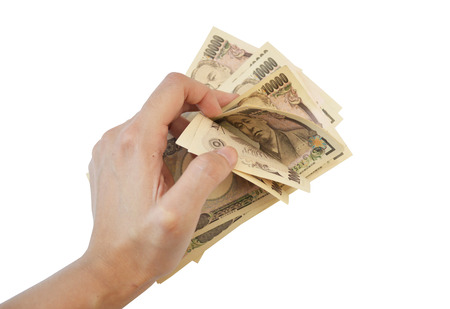 yen note: Count 10000 Japanese Yen Note