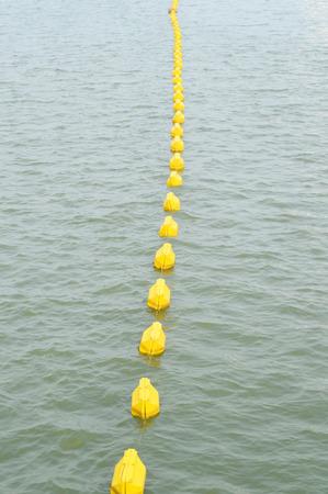 buoyancy: Buoyancy on the river Foto de archivo