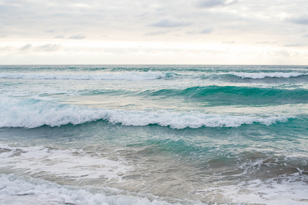 The Blue Waters of the Beach of San Diego, California.