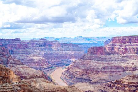 Picturesque landscapes of the Grand Canyon, Arizona, USA. Stok Fotoğraf