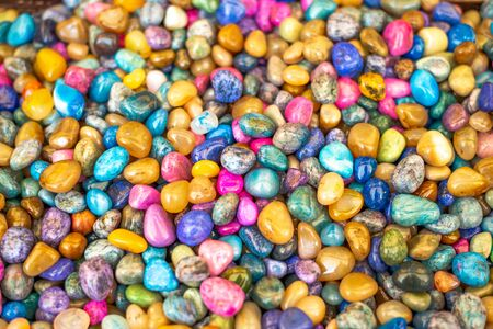 Colors of lucky stones for sale.