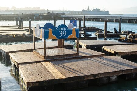 Pier 39 of San Francisco City.