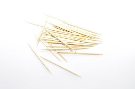 scattered toothpicks