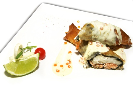 nutritiously: chicken roll
