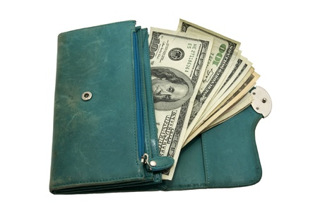 Women s wallet Stock Photo - 12719708